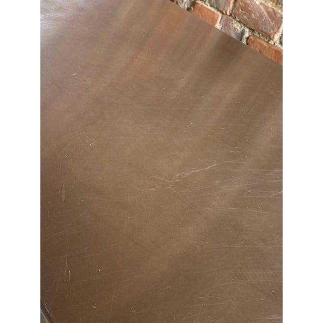 Paul Evans Paul Evans Custom Steel Sideboard Credenza, USA, circa 1970 For Sale - Image 4 of 13