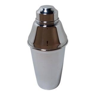 Mid-Century Modern Italian Alfra Chrome Plated Cocktail Shaker For Sale