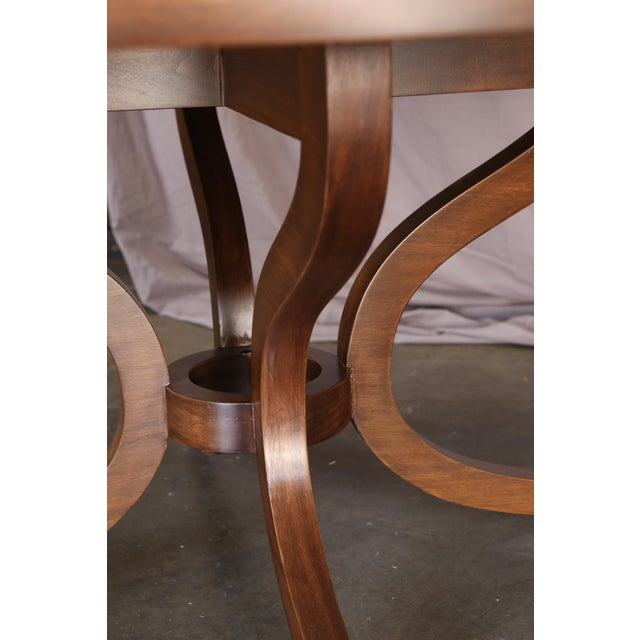 2000s Round Dessin Fournir Dining Table or Center Table For Sale - Image 5 of 11