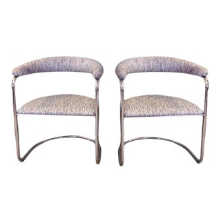 Vintage Thonet Style Cantilever Chairs - a Pair For Sale
