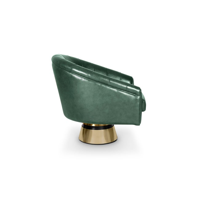 Mid-Century Modern Bogarde Armchair From Covet Paris For Sale - Image 3 of 6