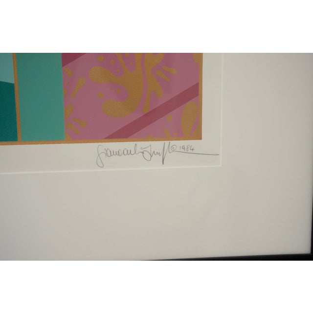 """Art Deco Revival """"Grand Tier"""" Lithograph by Giancarlo Impiglia For Sale - Image 4 of 7"""