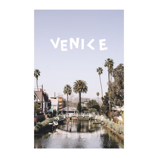 """The Venice Canals"" Framed Photograph"