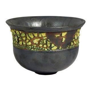 Aubergineware Ceramic Vessel #33 by Andrew Wilder For Sale
