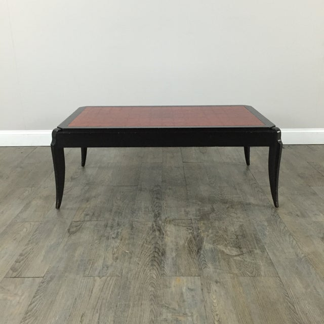 Interior Crafts Faux Crocodile Coffee Table - Image 2 of 10