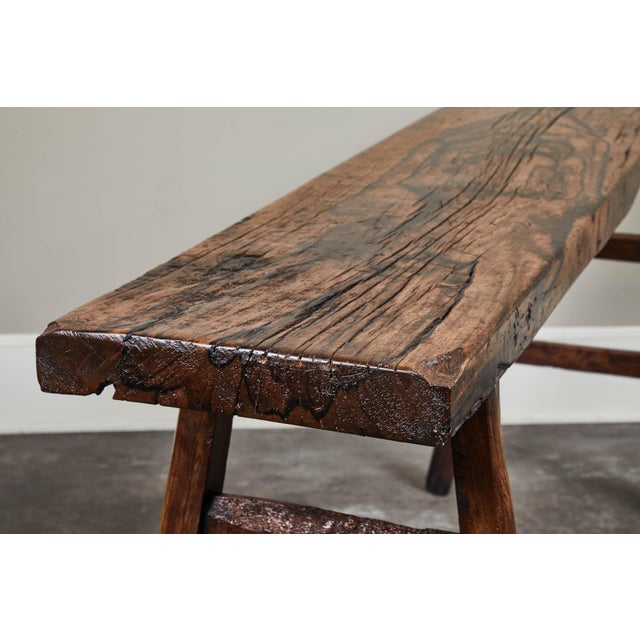 18th Century 18th C. Chinese Poplar Elm Altar Table For Sale - Image 5 of 8