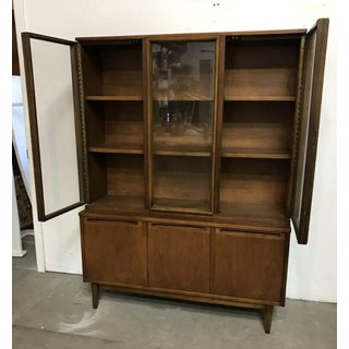 Midcentury Walnut Vitrine Preview