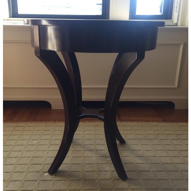 Nancy Corzine Nancy Corzine Laughton Walnut Side Table For Sale - Image 4 of 8