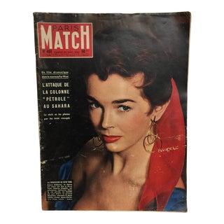 Paris Match Magazine 1957