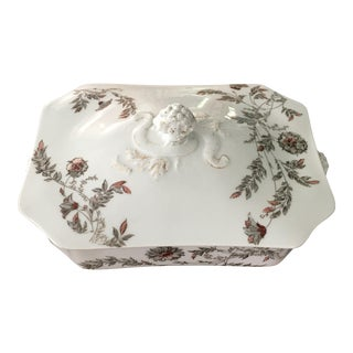 Haviland Co. Covered Vegetable Bowl For Sale