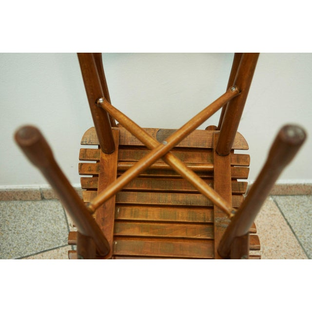Antique garden chair by J. & J. Kohn, 1900 For Sale - Image 5 of 11