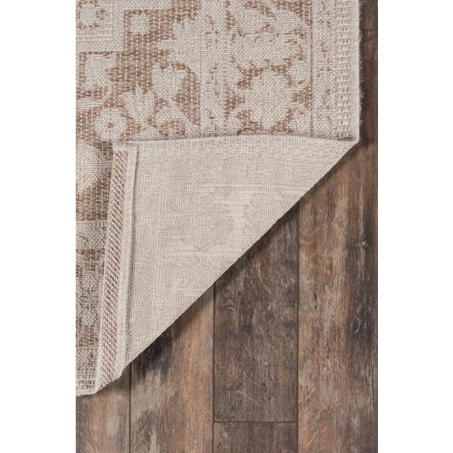 "Erin Gates Downeast Brunswick Beige Machine Made Polypropylene Area Rug 6'7"" X 9'6"" For Sale In Atlanta - Image 6 of 10"