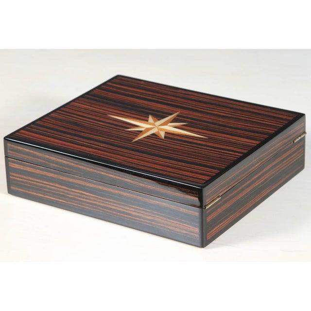 Macassar Lidded Box - Image 6 of 6