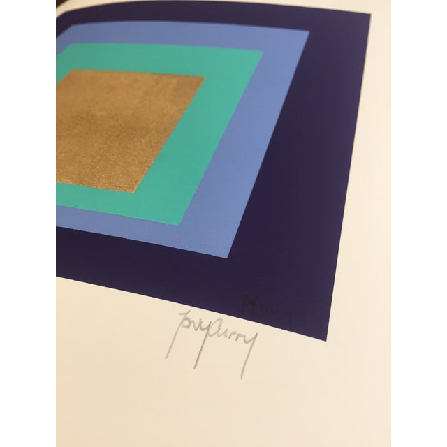 Abstract Modern Original Signed Numbered Print by Tony Curry For Sale - Image 3 of 4