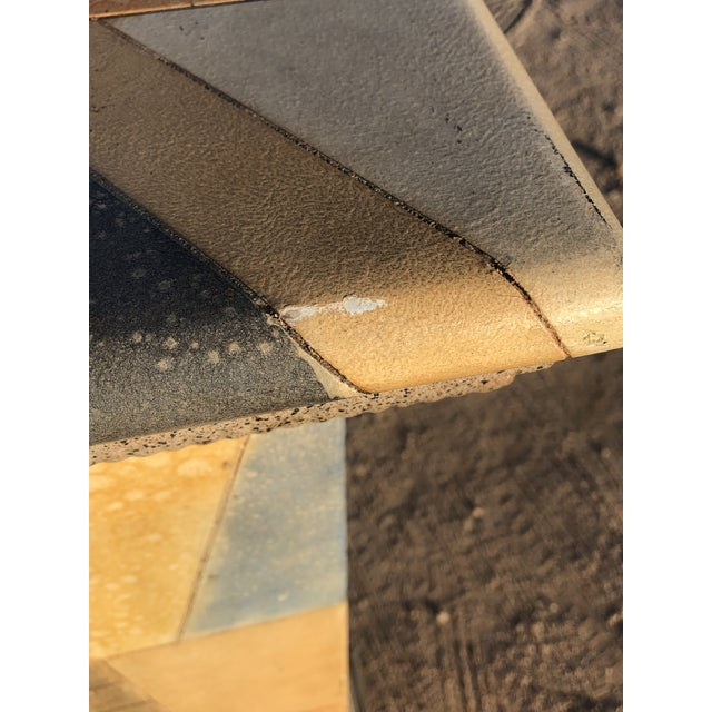 Abstract 1980s Vintage Abstract Wood Pedestal For Sale - Image 3 of 11