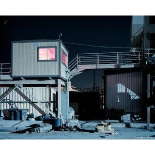 'Pink Room' Night Photograph by John Vias