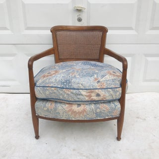 Mid-Century Club Chair With Cane Back Preview
