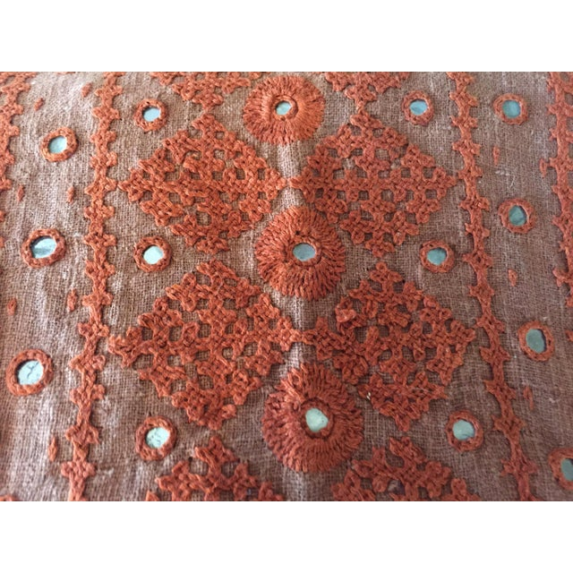 Vintage Embroidered Fabric 5