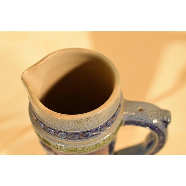 Vintage German Beir Stein For Sale - Image 4 of 11