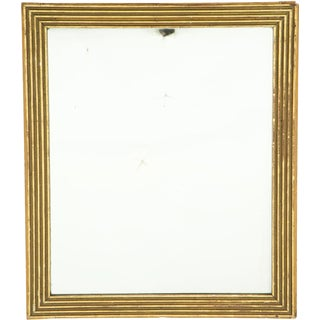 Late 19th Century Antique French Gilt Mirror For Sale
