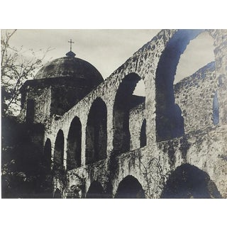 1950's Photograph of San Jose Mission San Antonio For Sale