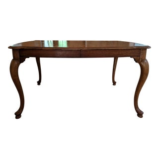 20th Century Queen Anne Baker Furniture Company Dining Table For Sale