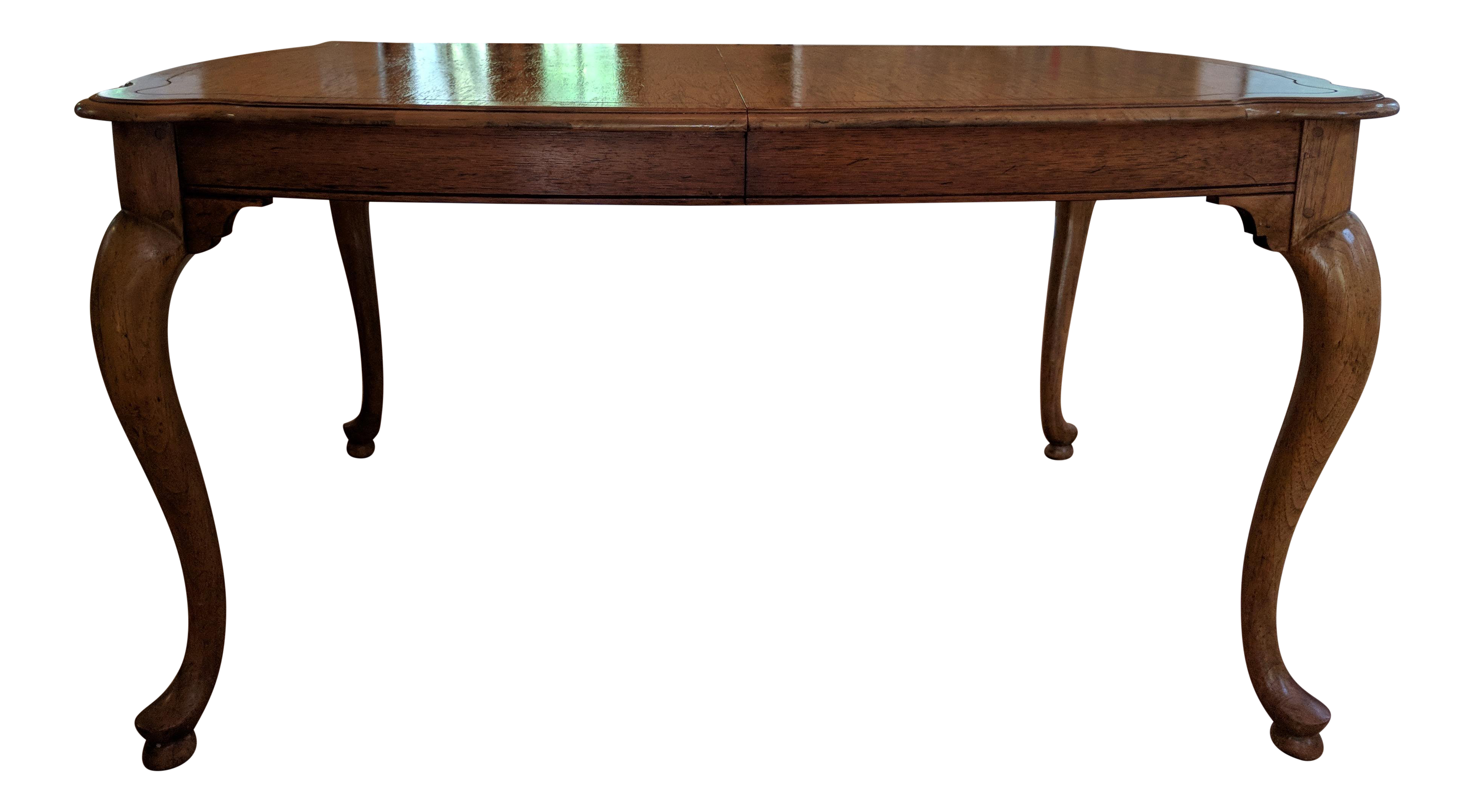 Delicieux 20th Century Queen Anne Baker Furniture Company Dining Table