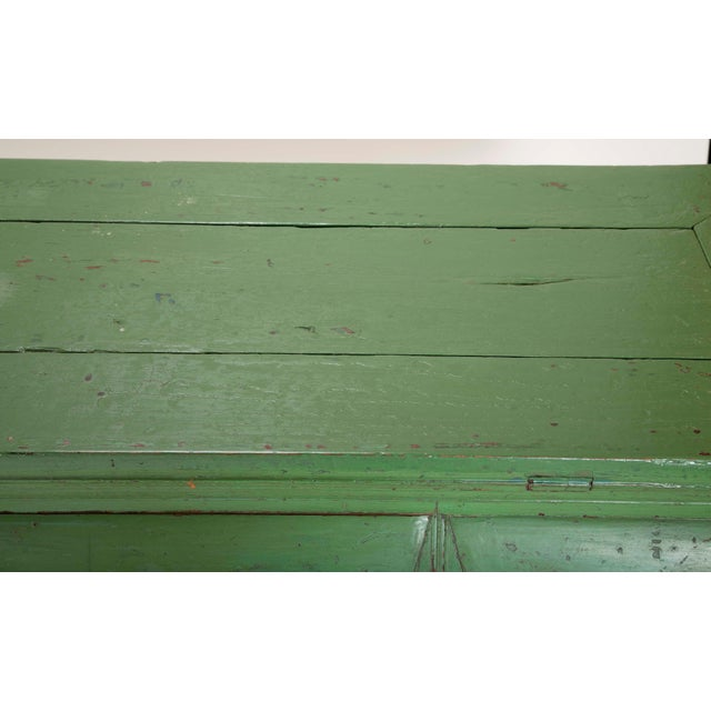 Green Green Painted Chinese Console Table, Large Scale For Sale - Image 8 of 13