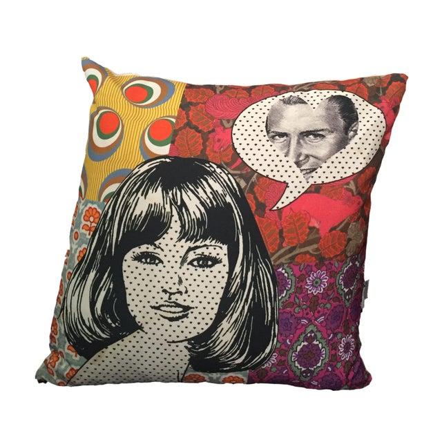 Pop Art Pillow - Image 1 of 4