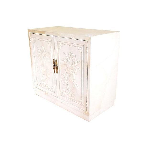Brass Henredon Asian-Style Bar Cabinet For Sale - Image 7 of 7