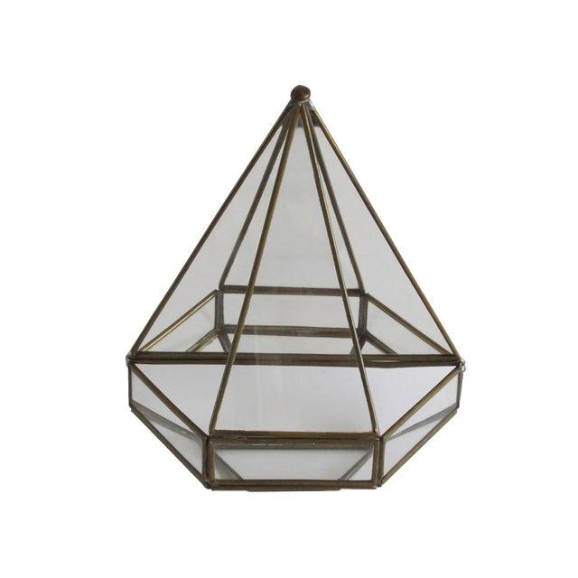 Mirrored Geometric Terrarium - Image 1 of 7