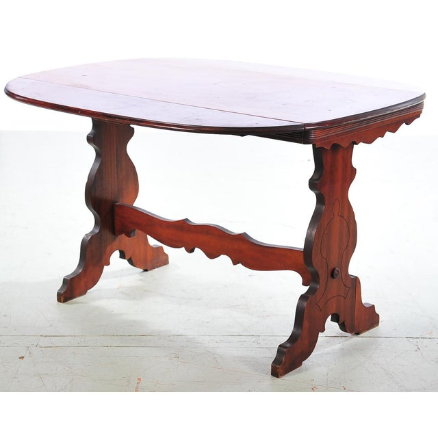 Hawthorne Furniture Antique 4ft. Table C.1920s - Image 2 of 10