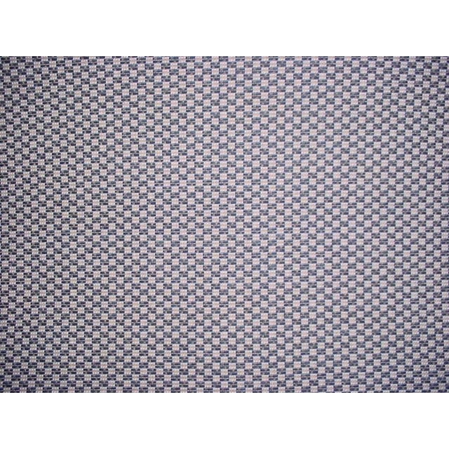 Lee Jofa Alturas Navy Baltic Blue Outdoor Fabric- 6 1/8 Yards For Sale