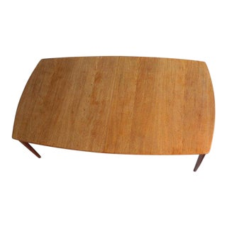 Large Midcentury Danish Sixteen Person Teak Dining or Conference Table For Sale