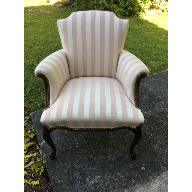 Late 20th Century Striped Perfection Chair For Sale - Image 13 of 13