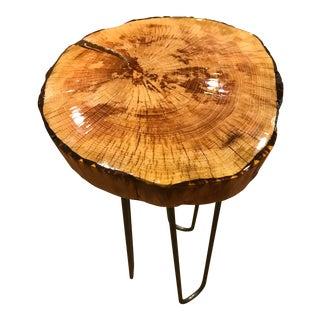 Rustic Oak Accent Table