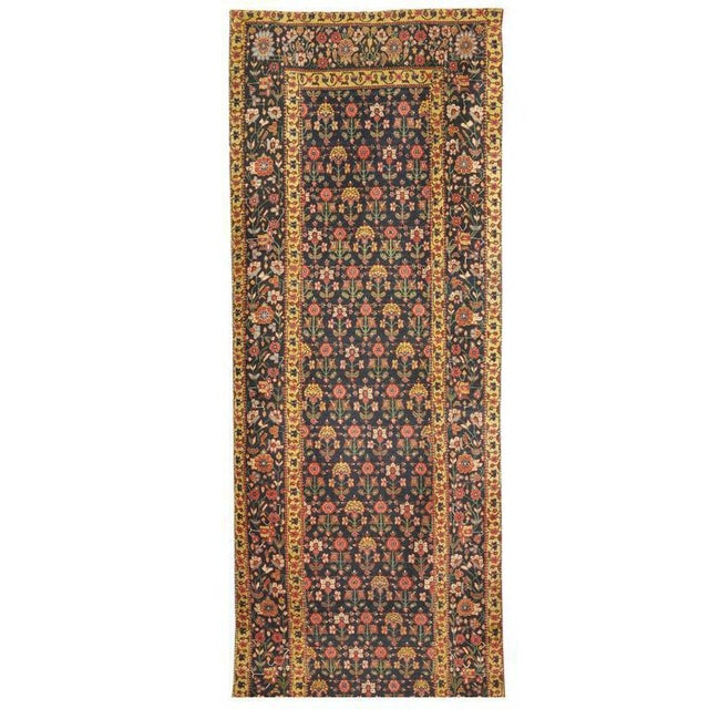 Exceptional Antique Early 19th Century Persian Joshegan Runner - Image 2 of 2