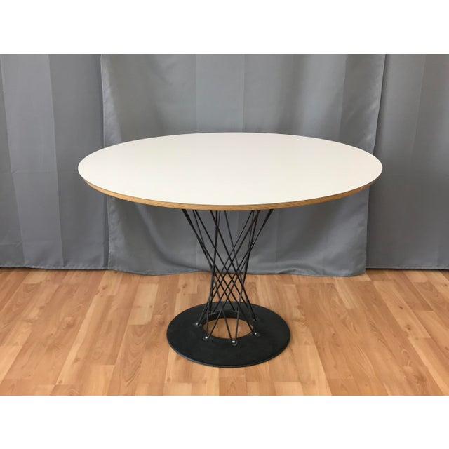 1990s Mid-Century Modern Noguchi Cyclone Dining Table For Sale - Image 11 of 11