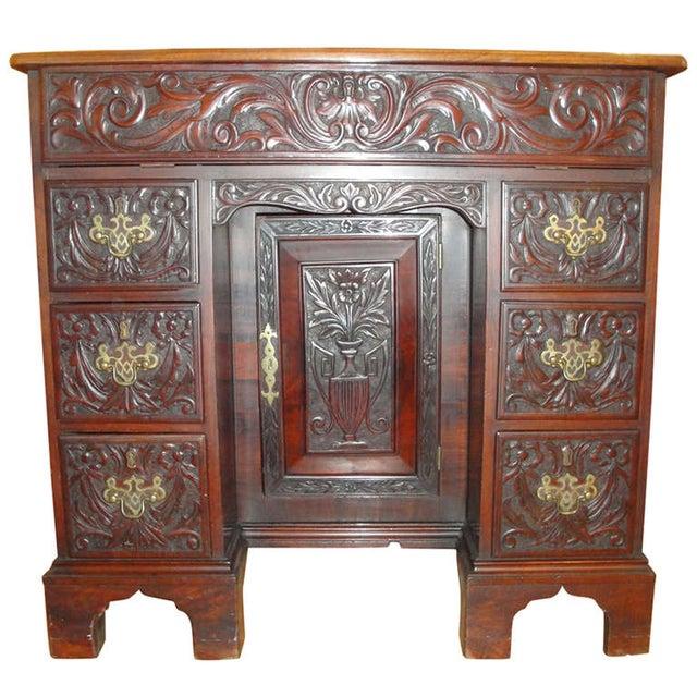 George II Style Mahogany Desk - Image 1 of 8