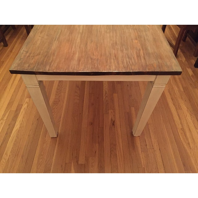 Antiqued Farmhouse Dining Table - Image 7 of 8