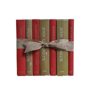 Steinbeck and Faulkner Gift Set, S/7 For Sale
