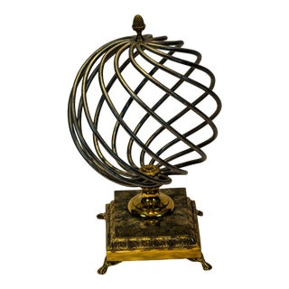 Maitland Smith Iron and Brass Sculpture For Sale