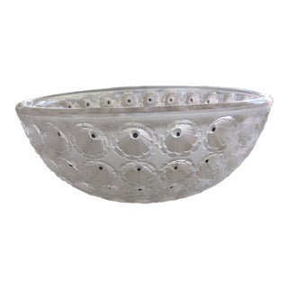Lalique Nemours Frosted Bowl