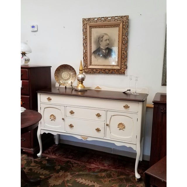 Farmhouse Style Buffet Table - Image 5 of 6