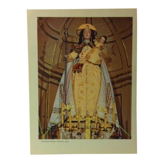 """1957 """"The Pilgrim Madonna - Pontevedra Spain"""" The Influence of the Shell on Humankind Print For Sale"""
