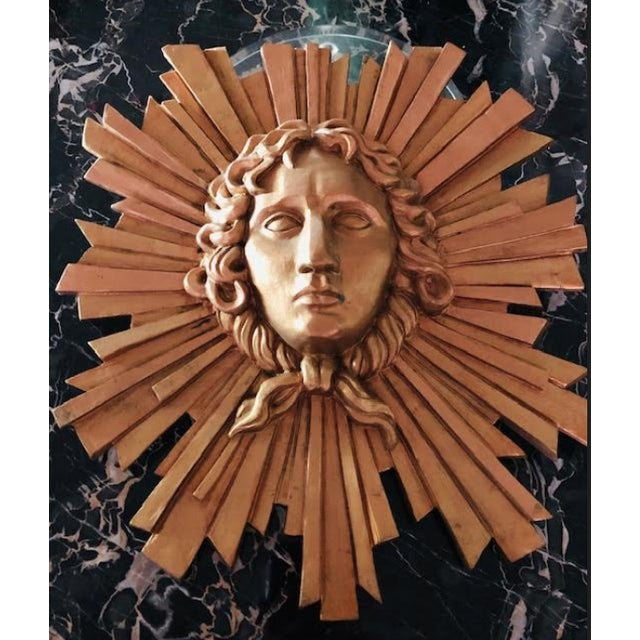 Le Roi Soleil Louis XIV Sculpted Head For Sale In Miami - Image 6 of 13