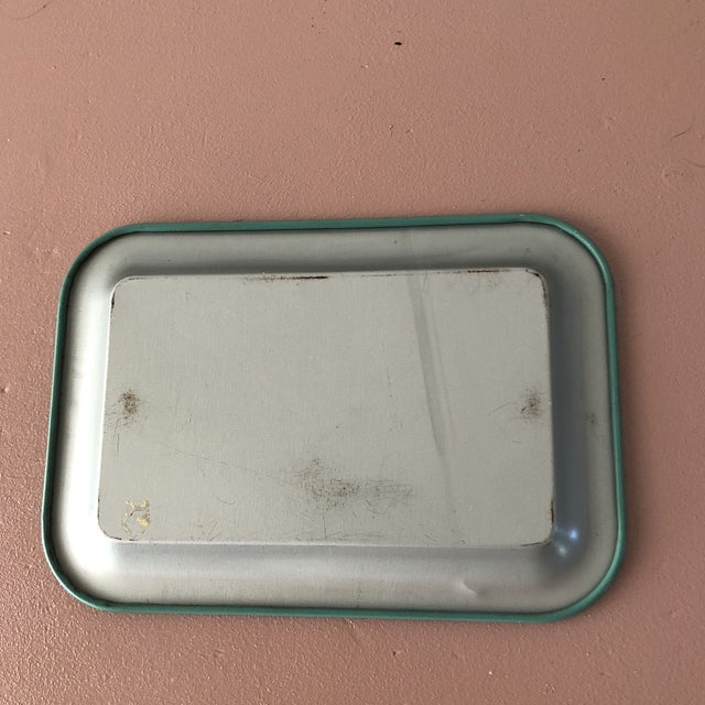 Mid Century Individual Metal Ashtray - Set of 6 For Sale - Image 4 of 5