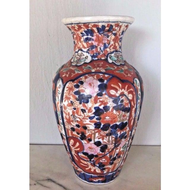 Antique 1860 Japanese Imari Porcelain Vase - Image 2 of 5