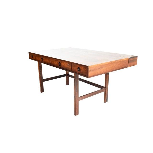Danish Modern Rosewood Desk by Peter Løvig Nielsen for Dansk - Image 6 of 11