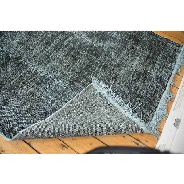 """Vintage Overdyed Distressed Runner - 5' X 13'3"""" - Image 9 of 10"""